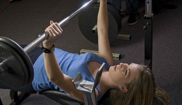 Тренировка груди для девушек