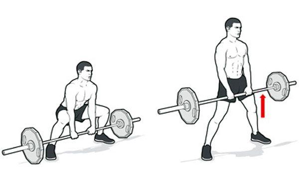 Становая тяга сумо техника выполнения
