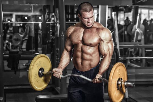 Мышцы во время интенсивной физической нагрузки.
