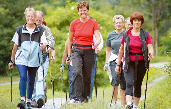 Правила нордической ходьбы