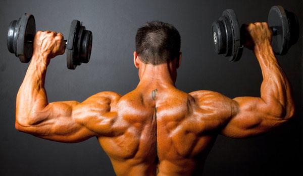 Накаченные мышцы