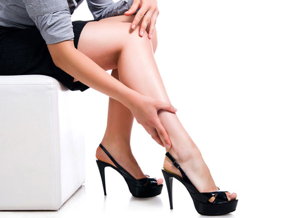 больные ноги варикозом