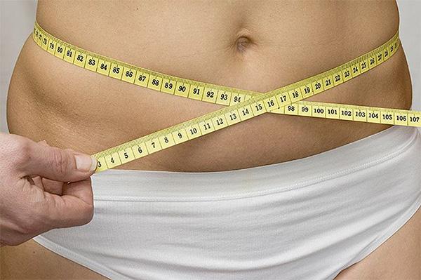 Измерение объёма живота
