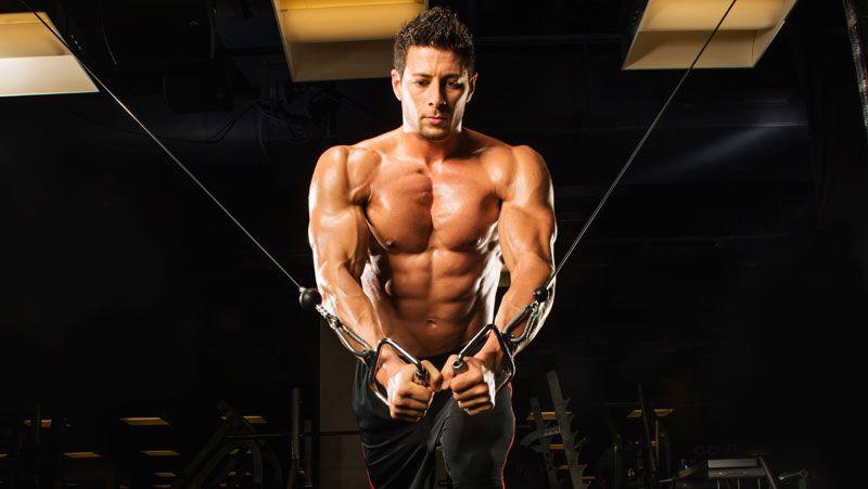 Кроссовер — изолированное упражнение для мышц груди