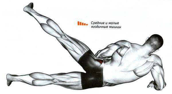 Мышцы при махах