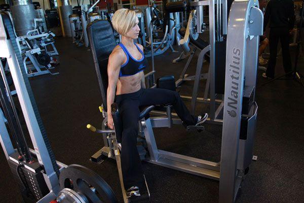 Тренировка средних ягодичных мышц