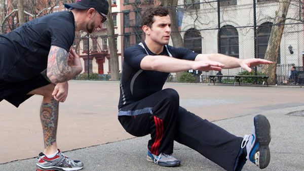 Тренировка приседаний на 1 ноге