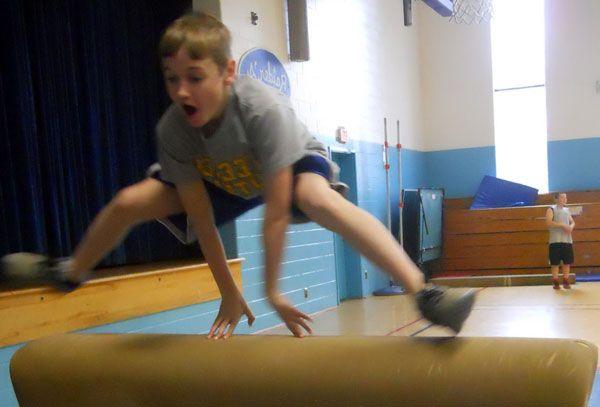 Гимнастика в школе