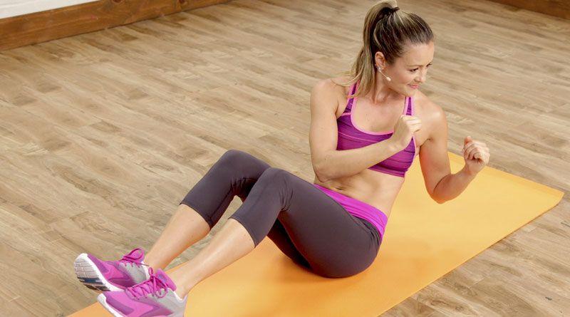 Русский твист (скручивания) – упражнение для косых мышц