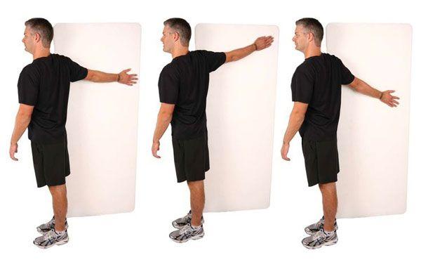 Растяжка мышц плеч и рук