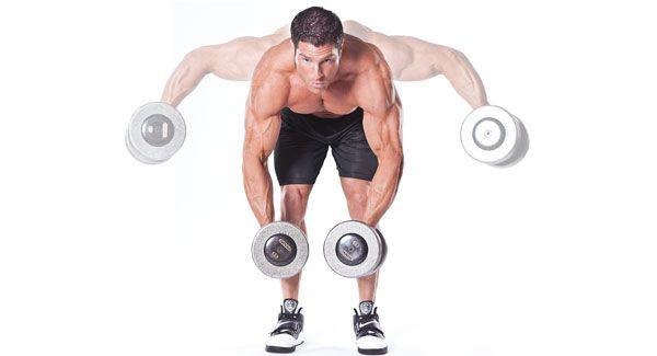 Упражнение для задних дельт