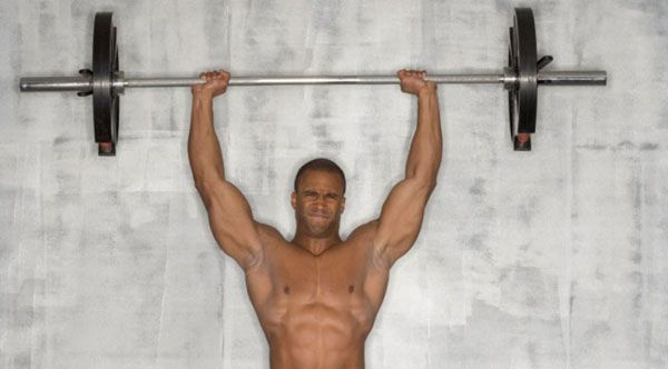 Большая нагрузка на мышцы