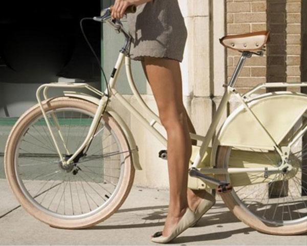 Велосипед в городских условиях.