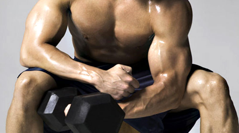 Комплекс упражнений на бицепс в тренажерном зале