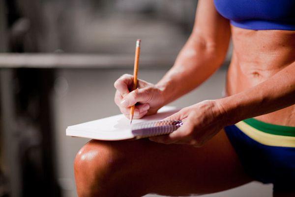Запись результатов тренировок