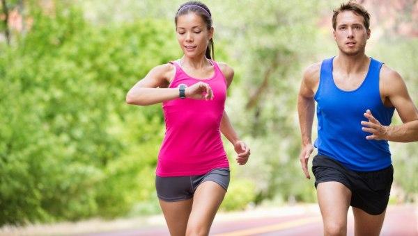 Парная беговая тренировка