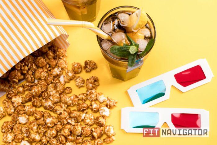 Попкорн и лимонад