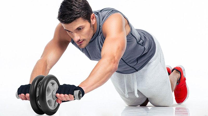 Комплекс упражнений с роликом для пресса — тренируемся эффективно