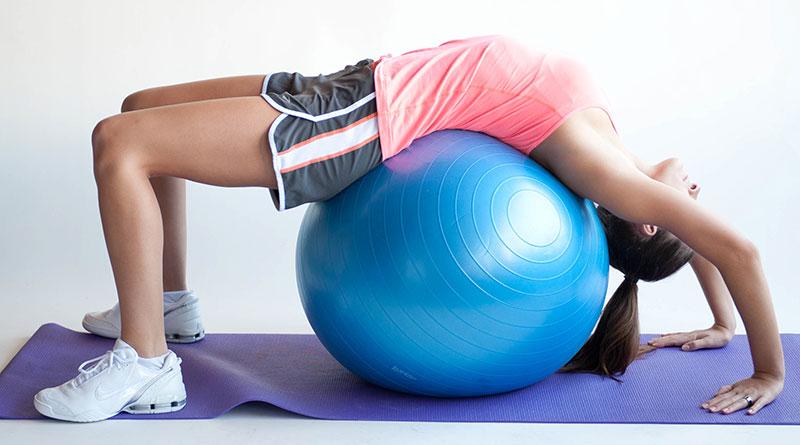 Комплекс упражнений с фитболом для похудения — круговая тренировка