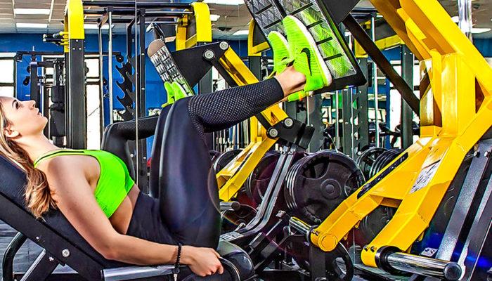 Техника жима ногами в тренажере — прорабатываем квадрицепсы