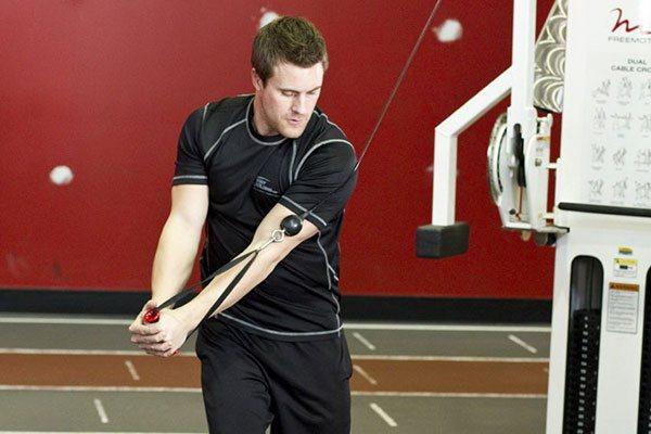 Техника упражнения дровосек