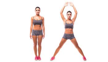 Техника упражнения звезда и пример программы для похудения