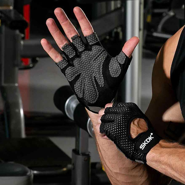 Мужские спортивные перчатки для тренировок