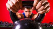Забросы гири на грудь с жимом вверх — работа мышц, техника, разбор ошибок