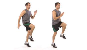 Техника бега на месте и польза домашней тренировки для похудения
